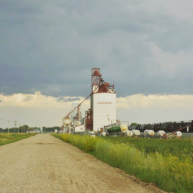 What defines #saskatchewan  #canada #agriculture #grain (by Johannes N.)