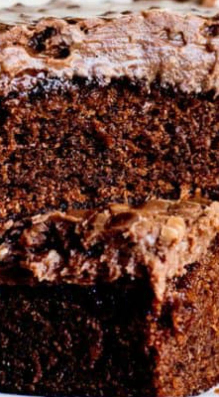 Copycat Cracker Barrel Double Fudge Cake ~ it is a keeper!