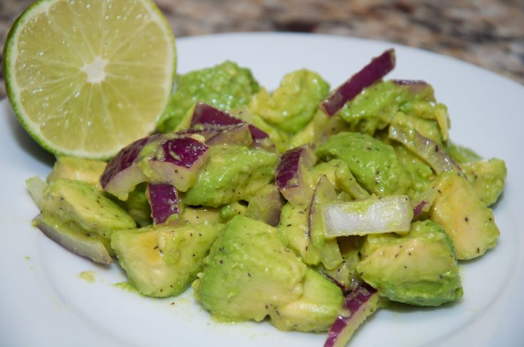 Haitian Avocado salad is Haiti's equivalent of guacamole. It goes great with fried plantains and can be served as a side salad or starter.