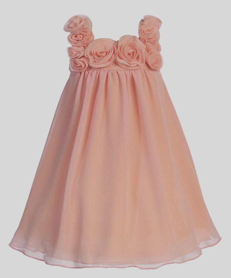 Vestidos Niña de las Flores, Color Coral