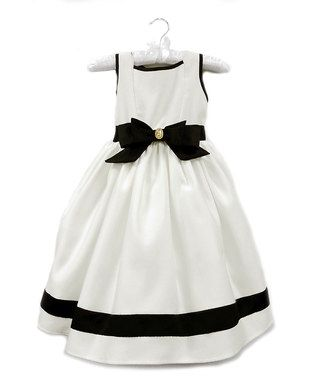 Ivory Audrey Dress - Girls