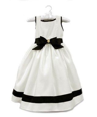 Ivory Audrey Dress - Girls