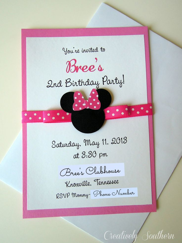 Minnie Mouse Themed Birthday Party - creatively southern