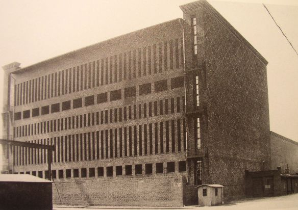 Hans Heinrich Müller's Umspannwerk Wittenau. Backside. (Berlin-Wittenau, photo from the 1920s)