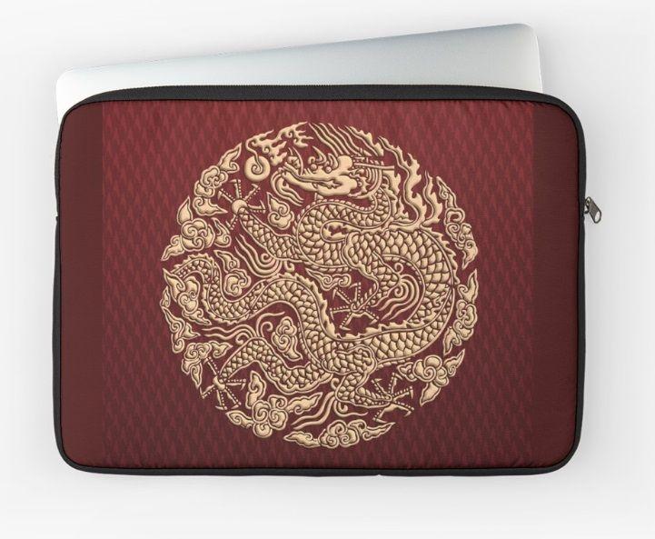Gold Dragon shenlong Laptop Sleeves #LaptopSleeves #laptop #artstyle #Photography #Digitalmanipulation #animal #beast #monster #gorilla #dragon #goku #vegeta #saiyan #supersaiyan #cyborg #anime #manga #cartoon #TVseries #movie
