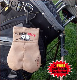 It Takes Balls to Golf novelty gifts Funny Gifts for Golfers Golf Tournament Novelty gifts Gag gifts Humorous mens gifts Funny gifts Sports gifts My Sack MySack