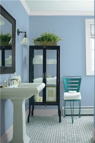 saved color selections | bathroom wall colors, best