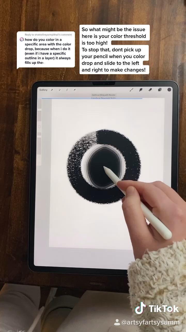 Color Drop Issues Video In 2021 Digital Art Tutorial Software Art Procreate Ipad Art