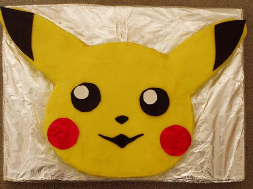 pikachu cake | Flickr - Photo Sharing!