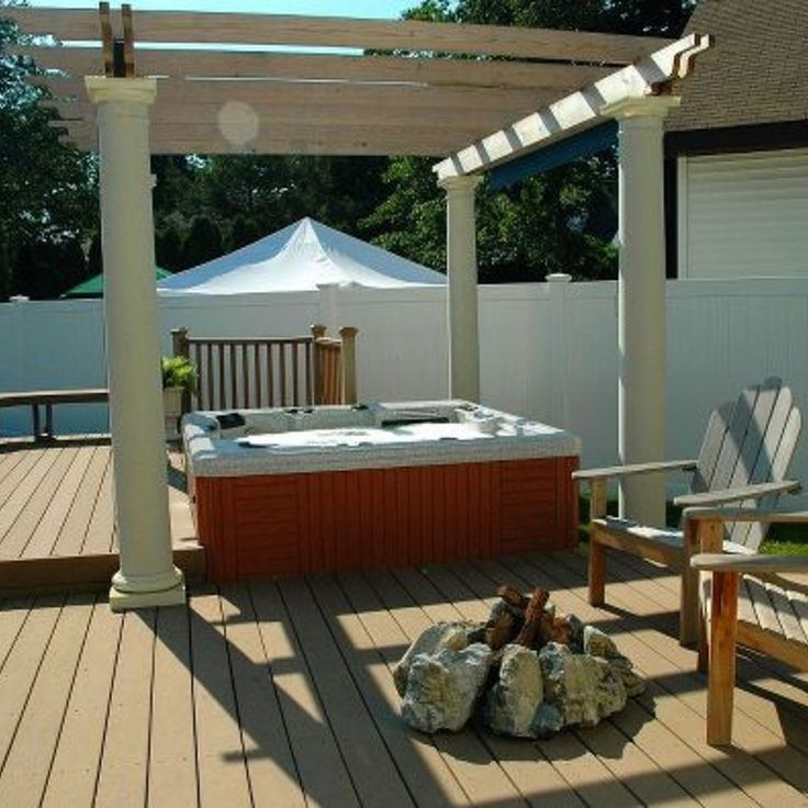 Portable Hot Tub Winter Enclosures : Best hot tub enclosures images on pinterest