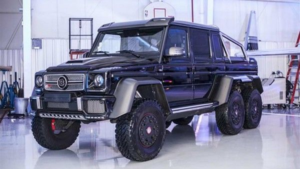 This Mercedes Benz Brabus G63 6x6 Could Be Yours In The U S For