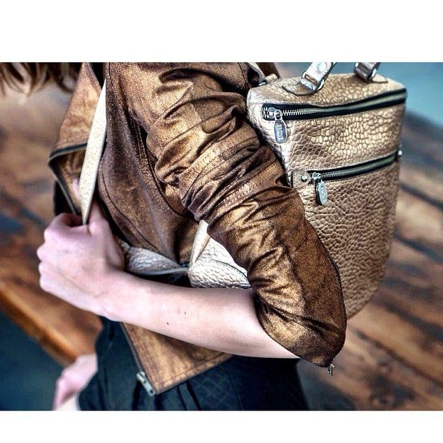 New collecion✨#Ss15 #Leather #Backpack #Jacket #Golden #Outfit