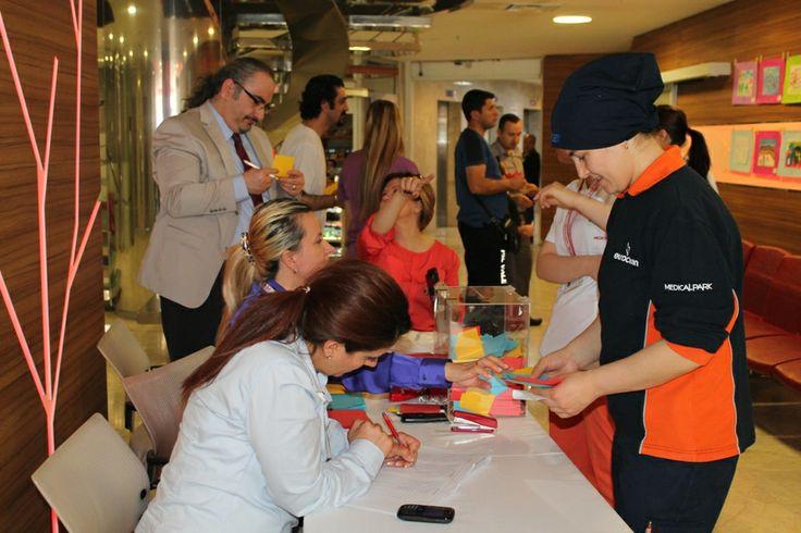 Medical Park Bursa Hastanesi 23 Nisan Resim Yarışması