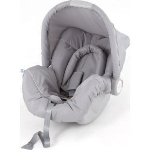 Bebê Conforto Galzerano Piccolina Cinza, pode ser utilizado como dispositivo de retenção para automóveis e bebê conforto.    Qualidade, conforto e segurança ao bebê.    Prático para transportar o bebê.