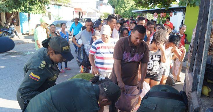 Policía presta ayudas humanitarias en la Alta Guajira Policía presta ayudas humanitarias en la Alta Guajira http://www.hoyesnoticiaenlaguajira.com/2018/01/policia-presta-ayudas-humanitarias-en.html