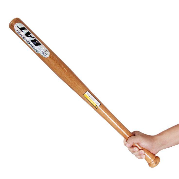 Горячие продажи Твердой древесины Бейсбол Bat для Бит деревянные Летучие Мыши 53 см Спорта На Открытом Воздухе Бейсбол Оборудования