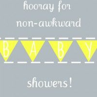 Most baby shower games are lame, but still needed to fill the void between cake and presents. Here are some non-awkward game and activity ideas for your shower.