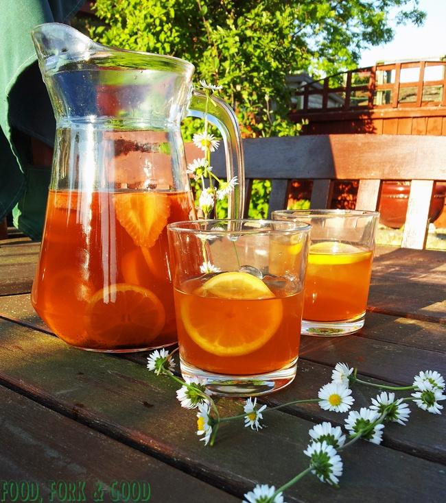 Food, Fork & Good.: Strawberry Crush Ice Tea