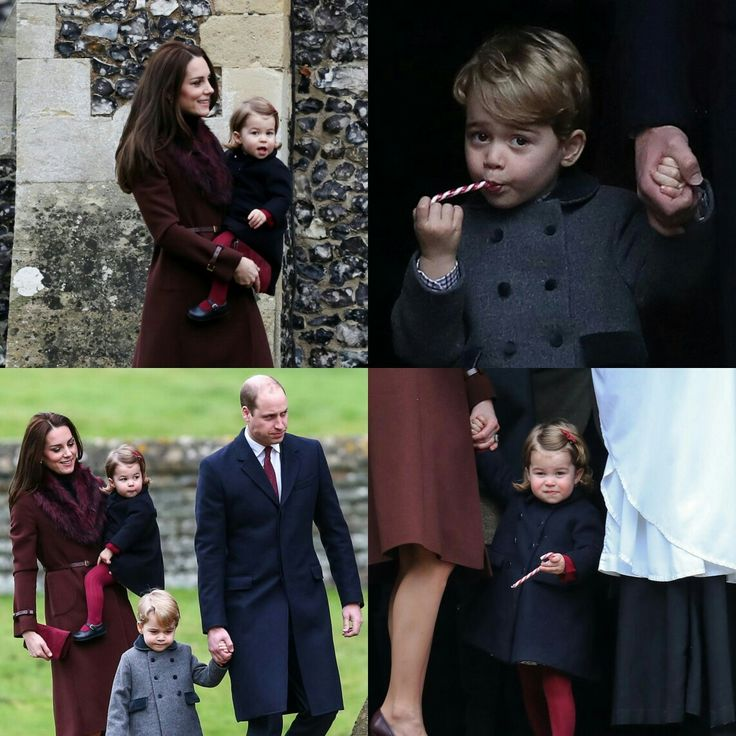 Royal Christmas! (#KateMiddletonand#PrinceWilliam as well as their kids #PrinceGeorge and #PrincessCharlotte) attended the service together this morning! • • • • • • • • • • • • • • • • • • • • • • • • • Natal real! (Kate Middleton e o príncipe William assim como príncipe George e a princesa Charlotte, filho deles) compareceram ao culto juntos esta manhã!