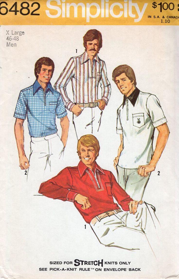 22 besten Retro 70\'s Patterns Bilder auf Pinterest   Schnittmuster ...