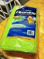 Use microfiber auto cleaning cloths for diaper inserts