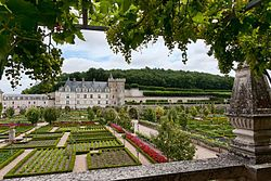 The Château de Villandry is a castle-palace located in Villandry, in the département of Indre-et-Loire, France.