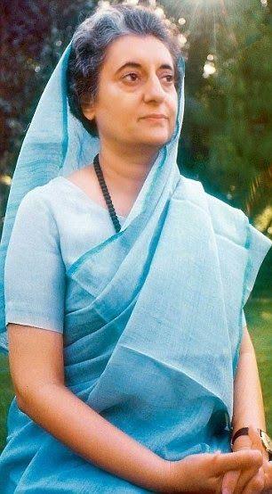 Indira Gandhi_Saree Inspiration ~ So-Saree