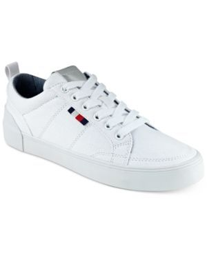 Tommy Hilfiger Women's Priss Lace-Up Sneakers - White 5.5M