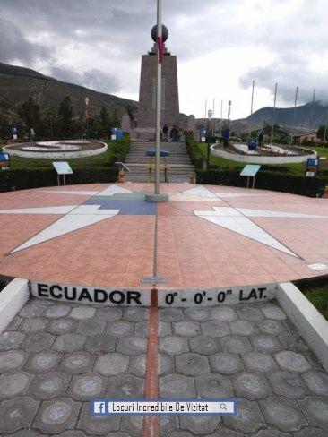 Monumentul Mijlocul Lumii, Mitad Del Mundo, Quito, Ecuador
