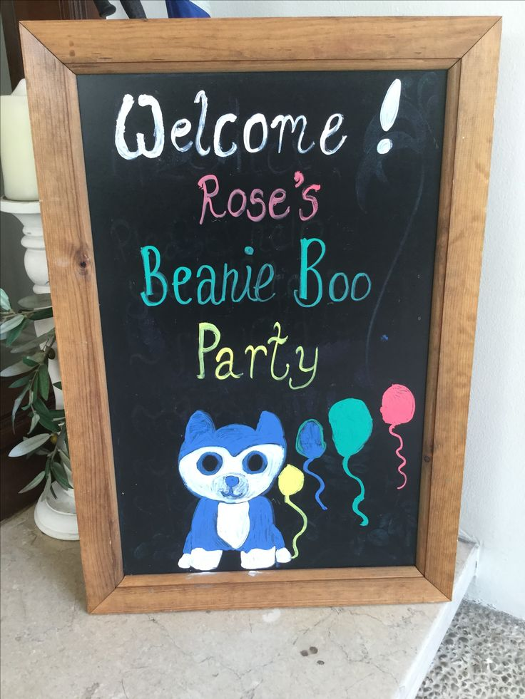 Welcome to our Beanie Boo party