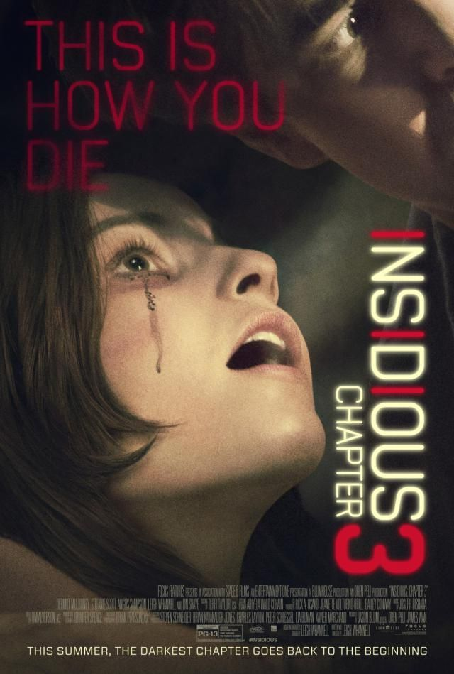 Horror Movie Release Calendar: 'Insidious: Chapter 3' Movie Poster