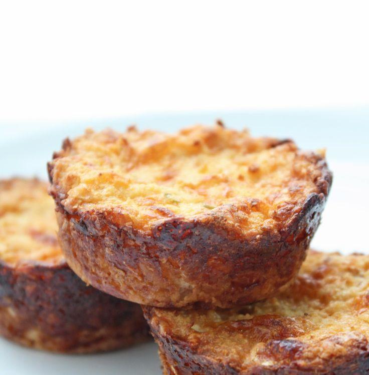 I Breathe... I'm Hungry...: Jalapeno & Cheddar Cauliflower Muffins