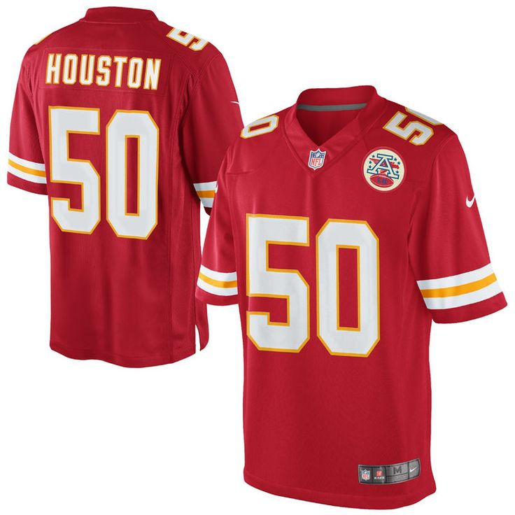 d6c4818a730 Justin Houston Kansas City Chiefs Nike Team Color Limited Jersey - Red