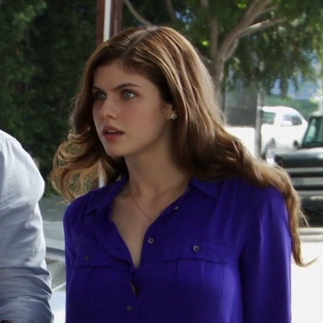 Image May Contain 1 Person With Images Alexandra Daddario