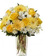 žlutá kytice