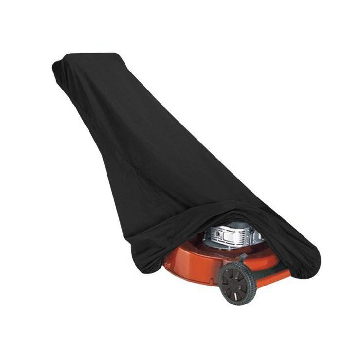 Universal Black Waterproof Dustproof Lawn Mower COVER 1000*970*500MM Gardening Rain