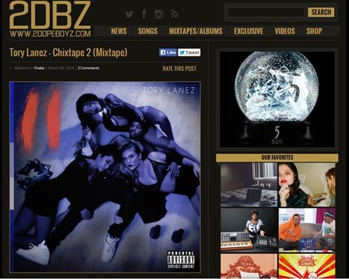 """Check out more of Ari Admani and I's client Chemist's work on Tory Lanez' """"ChixTape 2"""" written up in 2 Dope Boyz: http://2dopeboyz.com/2014/03/06/tory-lanez-chixtape-2-mixtape/"""