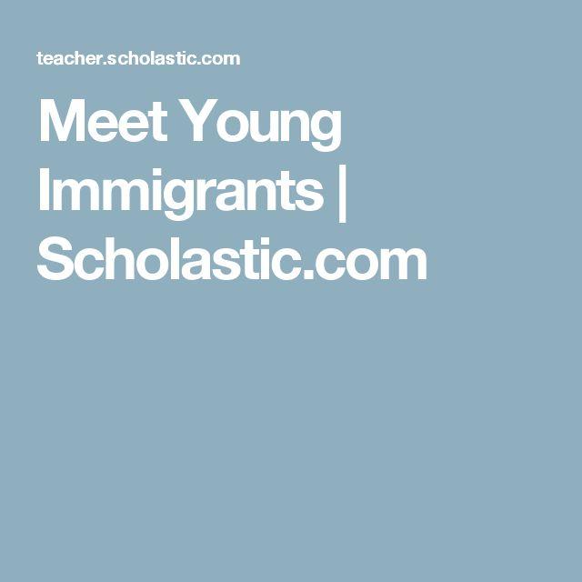 Meet Young Immigrants | Scholastic.com
