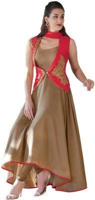 Heart & Soul Georgette Embroidered Salwar Suit Dupatta Material Price in India - Buy Heart & Soul Georgette Embroidered Salwar Suit Dupatta Material online at Flipkart.com