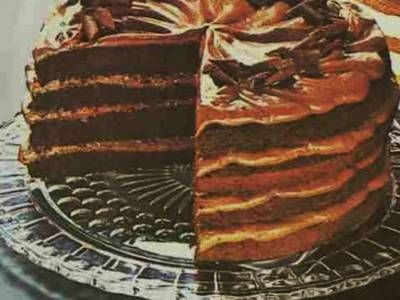 Original Bacardi Chocolate Rum Cake