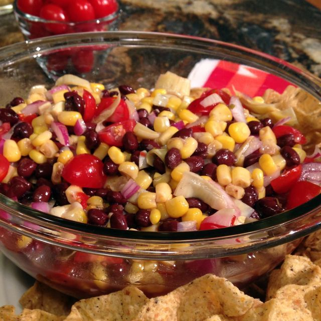 A delicious summer salad you can eat with a clear (healthy) conscience!