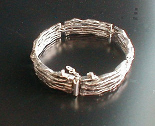 Relo armband zilver