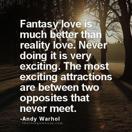 Love Fantasy Quotes: 18 Best Quotes By Andy Warhol Images On Pinterest