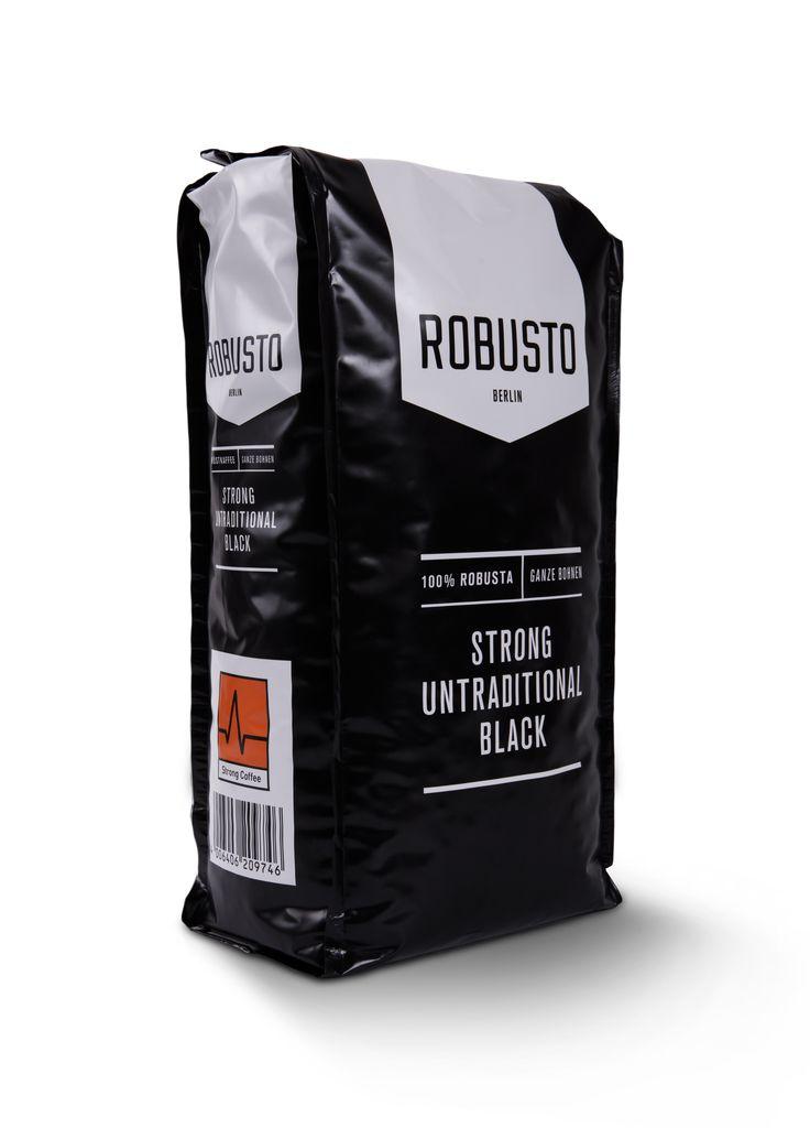 Robusto: Ein Kaffee, der nicht nur durch sein traditionell würziges Aroma überzeugt. Mit seinem hohen Koffeingehalt von 2,3% ist er ein starker Muntermacher für nicht minder starke Individualisten. Der cremige, aber etwas bittere und...