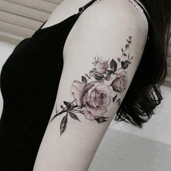 Tatuajes En El Hombro Pequeños Y Delicados Para Mujeres Tatuajes