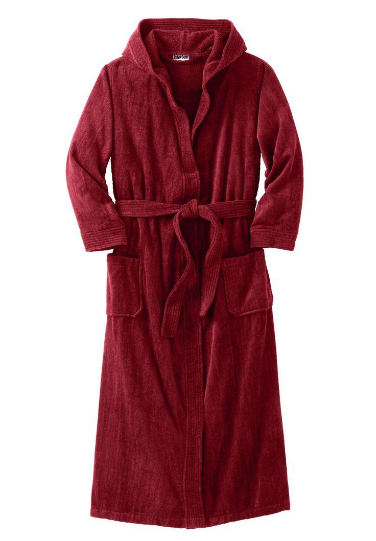 Hooded Maxi Fleece Robe   Fashideas.com
