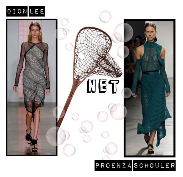 Spring/Summer 2016 Trend; Netting by kimearls on Polyvore featuring Dion Lee