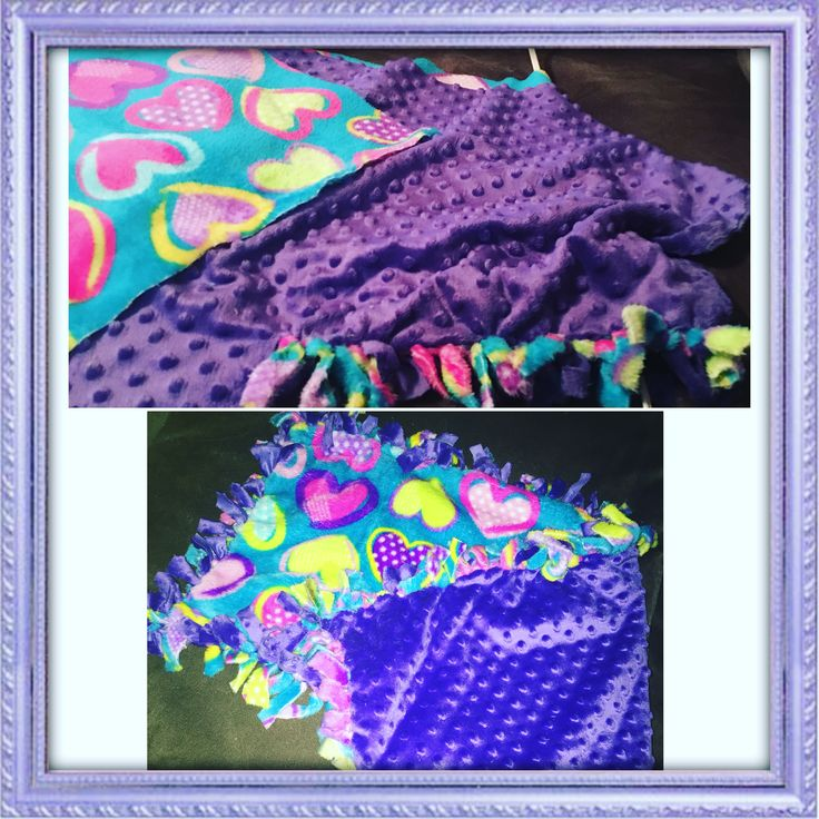 Diy tie knot blanket Tie knot blanket, Knot blanket, Crafts