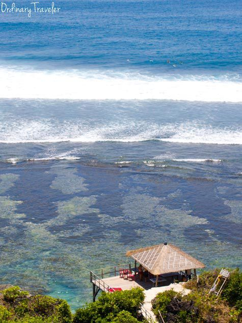 Eat, Pray, Love, and Surf in Bali. This article talks about getting around bali and pricing. $40 for personal driver for  8 hours. $4 for a filet mignon. $5 hour long massage, etc.