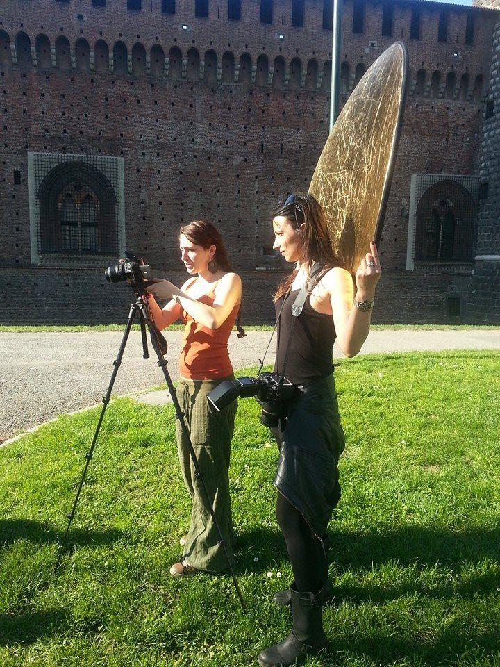 Alice e la nostra fotografa Tiziana!!